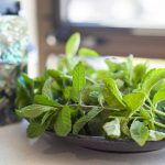 basil and peppermint
