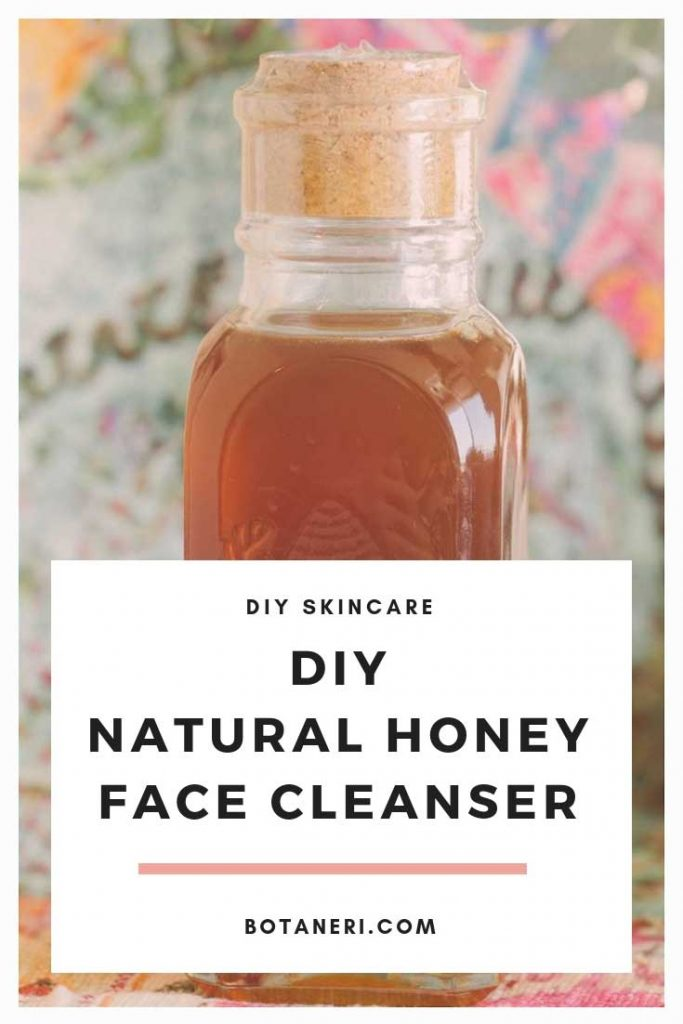 DIY-Natural-honey-face-cleanser