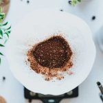 coffee scrub for exfoliation